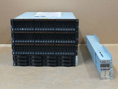 IBM Storwize V5000 8GB FC Storage Array 3 x Expansion Shelves 123.3TB
